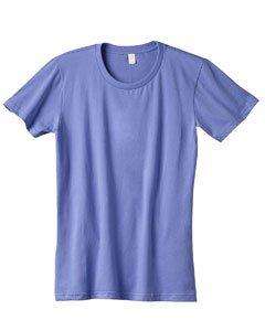 Anvil Womens Fashion Fit Ringspun T-Shirt (880) -Violet -M - Anvil Short Sleeve T-shirt