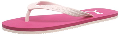 Puma First Flip Jr, Unisex-Kinder Zehentrenner, Pink (rose red-pink dogwood 03), 38 EU (5 Kinder UK)