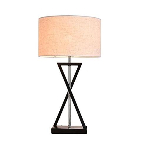 LH&M Kreatives modernes Wohnzimmer LED-Mode-Taste Tischlampe Luxus Schlafzimmer Schutz Augenbett