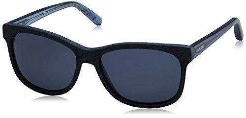 Tommy Hilfiger Unisex-Erwachsene Sonnenbrille TH 1985 KU, Schwarz (Pattern Blue), 53 Preisvergleich