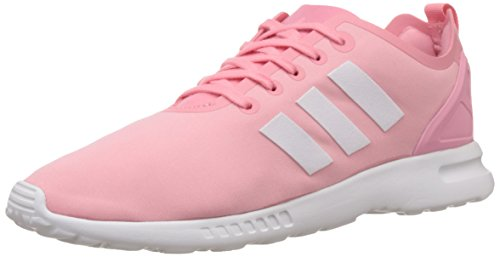 adidas - Zx Flux Smooth, Scarpe da ginnastica Donna Rosa (Pink (Super Pop F15/Core White/Core Black))