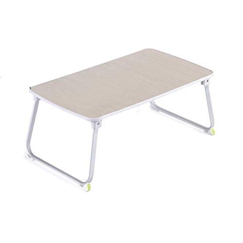 DQMSB Bureau d'ordinateur pour Faire Le lit sur Le dortoir du collège, Petite Table Pliante paresseuse (Couleur : 70 * 36 * 37.5cm)
