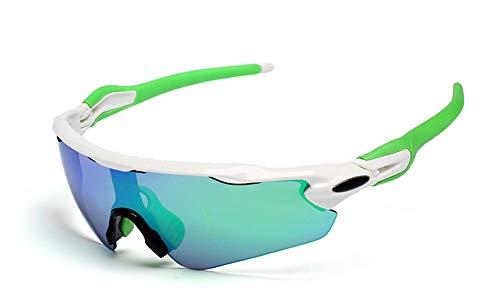 KOMNY Reitbrille Radfahren Sport Brille asiatische Version der neuen Outdoor-Sport polarisierte Sonnenbrille Brille, C