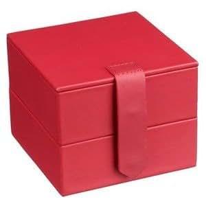 John Lewis Trinket Travel Jewellery Box Chilli Red Pink Amazon