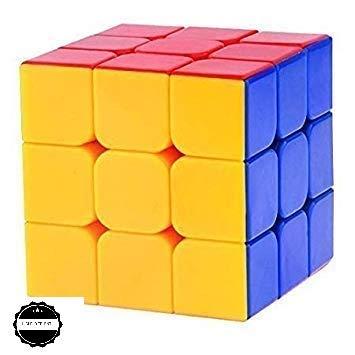 HIGHFLYER ENTERPRISES High-Speed Rubik Stickerless Magic Puzzle Cube