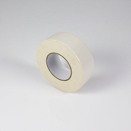 Gaffa Tape weiß, 50m x 50mm - Gewebeklebeband / Bühnenklebeband - showking