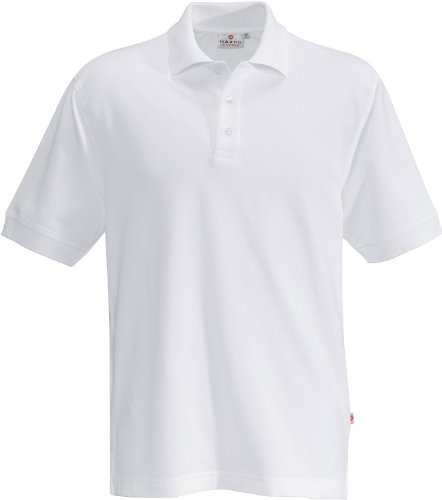 "HAKRO Polo-Shirt ""Performance"" - 816 - weiß - Größe: M (E Pique Polo Performance)"