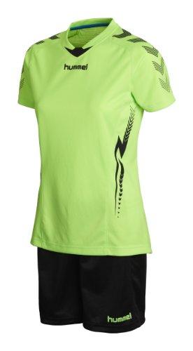 hummel Damen Trikot-Set Aw13 Training Kit Women, Green Gecko, M, 06-087-6595