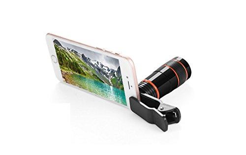 HDWY Handy-Kamera 8X monokulare High-Definition-Nachtsicht High-Definition-Nachtsicht Ghosting Kurze Ecke Bequem Teleobjektiv Reisen im Freien