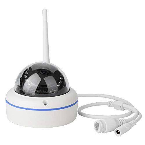 Kamera Aussen WLAN, 1080P FHD Dome Überwachungskamera Ultra Hochwertige Bild mit IP66 wasserfest, Bewegungsmelder, Nachtsich, Unterstützung von 64GB SD Karten