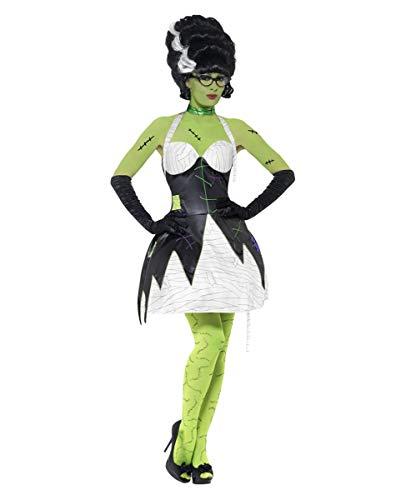 Horror-Shop Miss Frankenstein Kostüm - Frankenstein Und Braut Kostüm Für Erwachsene