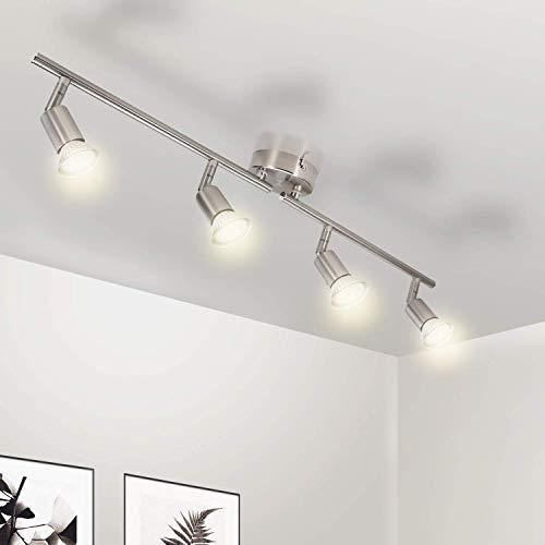 Wowatt Lámpara techo LED Plafón Focos Giratorios