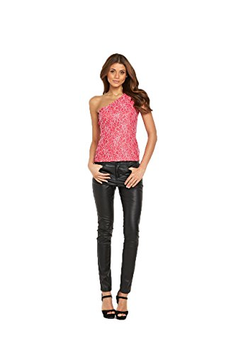 definitions-corded-lace-one-shoulder-top-in-coral-size-16