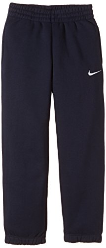 Nike Kids Fleece (Nike Kinder Hose TS Boys Fleece Pant obsidian/White, M-140/152)