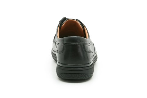 Clarks Mile Swift Hommes Casual Scarpe Noir