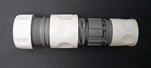Adaptateur à clipser. 1/5,1 cm Snap-on Accessoires Permet d'être fixée au 3/10,2 cm ou 2,5 cm Tuyau d'arrosage. C/W 3/10,2 cm Raccord de tuyau.