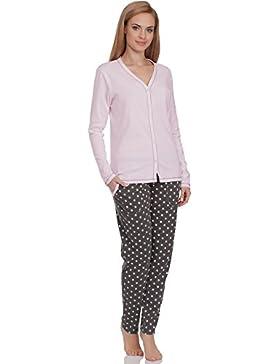 Italian Fashion IF Pigiami Due Pezzi per Donna Hydrangea 0223