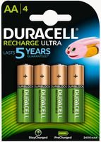 Duracell HR06-P - PreCharged AA 4 Pack 2500mAh Duracell Pre-charged Rechargeable