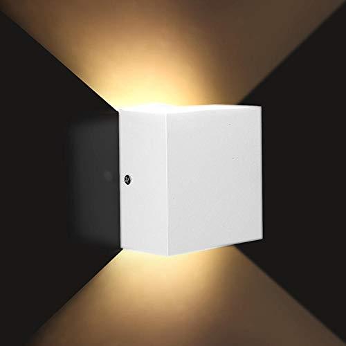 LED Wandleuchte innen modern Wandlampe Beleuchtung Metall Nachtlicht Einfach Küche 6W dimmbar 110V * LED Aluminium Wandlampe Track Engineering Platz LED Lampe Bett Zimmer Schlafzimmer Beleuchtung