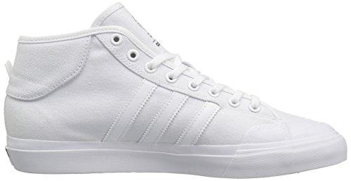 Adidas Matchcourt Mid (blanc / blanc / blanc) Chaussures de skate-8 white