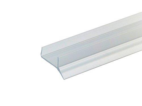 8 €/m PiHaMi® Sockeldichtprofil Küche Sockeldichtlippe 2500x16mm Kunststoff transparent für Küchenblende