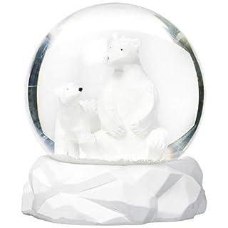 Abbott Collection Polar Bears Snow Globe-4.5