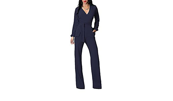 c8776bc49d134 Gladiolus Tuta Elegante Pantaloni Lungo Jumpsuit Vestito Abito Cerimonia da  Donna  Amazon.it  Sport e tempo libero