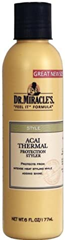 Dr. Miracle's Acai Thermal Protection Styler 6 oz. (Pack of 2) by Dr. Miracle