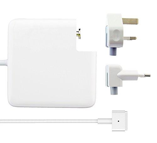 KYTD Kompatibel für MacBook Pro Ladegerät, 60W MagSafe 2 Netzteil für Apple MacBook Pro mit 13-Zoll Retina Display (ab Ende 2012) europäischen Stecker des Netzadapters - A1184 Apple-laptop-ladegerät