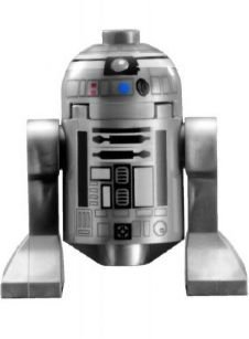 LEGO Star Wars - Minifigur R2-Q2 Astromech (R2 Wars Star)