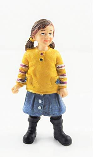 Melody Jane Puppenhaus Menschen Modern Mädchen in Stiefel 1:12 Maßstab Harzfigur (Stiefeln Mädchen In)