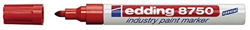 edding-e-8750-marqueur-peinture-pour-les-surfaces-huileuses-ou-poussiereuses-1-a-25-mm-rouge