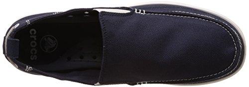 Crocs 11270_Walu Mocassini da Uomo Blu (Navy/White)