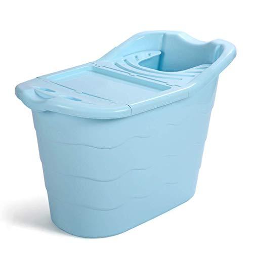 A~LICE&YGG Faltbare Badewanne, Badewanne für Erwachsene/Kinderheim Tragbare Badewanne im Freien Schnelles Falten und einfache Lagerung, überdachte Badewanne