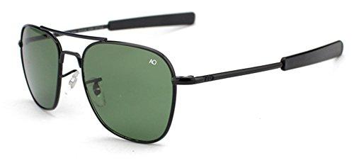 Marcus R Caveggf Sonnenbrillen Männlich Glas Quadratischer Rahmen Polarisiert UV 400 Schutz Reisen Im Freien Angeln Fahren Sonnenblende, 001