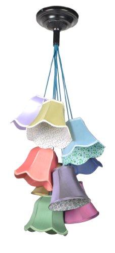 Zuiver 5001302 Pendant Lamp Granny Textur, mehrfarbig