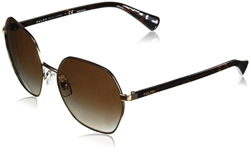 Ralph  Damen Sonnenbrille 0RA4124, Braun (Shiny with Brown), 60