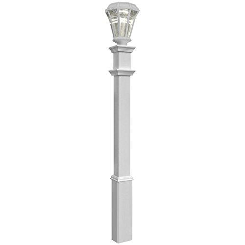 New England von va94428Sturbridge Lampe Post–Weiß