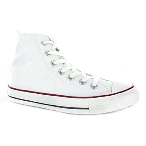 Converse Chuck Taylor HI White Womens Trainers Size 6 UK