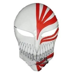 [Cosplay] tool hollowification mask Bleach BLEACH hollowfication cosplay costume tool Kurosaki Ichigo white red (japan ()