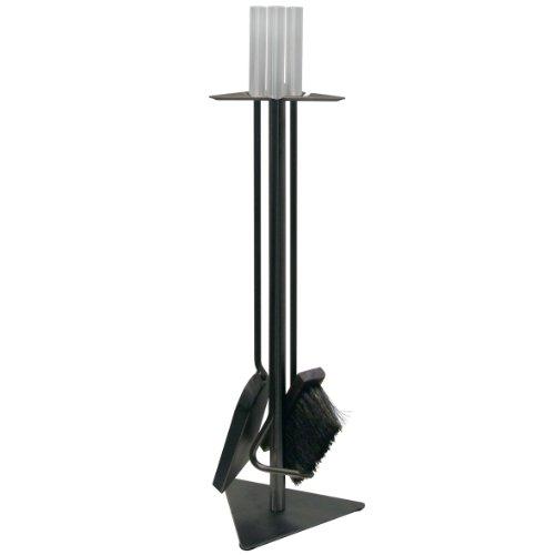 Kamino-Trend Cepillo Deshollinador para Limpiar Chimenea con Arandela Roscada M12, Acero, Negro/Gris,...