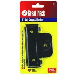 Great Neck Saw BGM35 3-1/2-Inch Butt Gauge and Marker by Great Neck Saw
