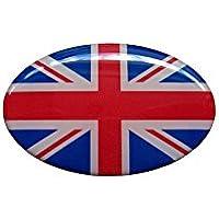 Ovale Englische Uk-Flagge Aufkleber Vereinigtes Königreich Moto Auto Truck