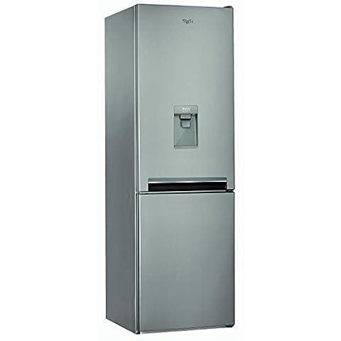 Whirlpool blfv8101oxaqua - réfrigérateur congélateur bas no frost 319l a+