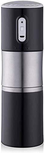 TD Tragbare Vollautomatische Kaffeemaschine Reise Espressomaschine, Einknopfbedienung 304 Edelstahl Einfach zu Bedienen