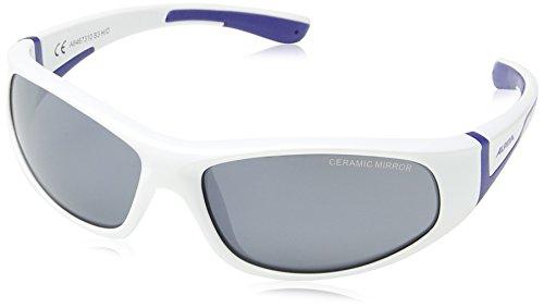 Alpina Kinder Sonnenbrille FLEXXY JUNIOR, white-blue, A8467310