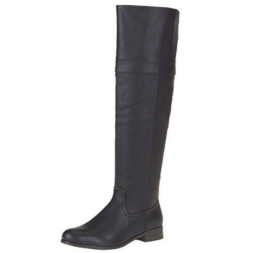 Damen Schuhe, 307-PG, STIEFEL Schwarz