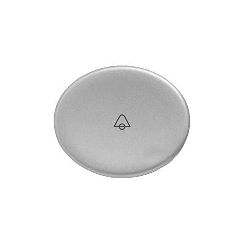 Niessen tacto - Tecla pulsador con simbolo timbre tacto plata
