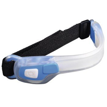 Hama Active Line, Taschenlampe LED Sportarmband Unisex-Erwachsene, blau, Einheitsgröße