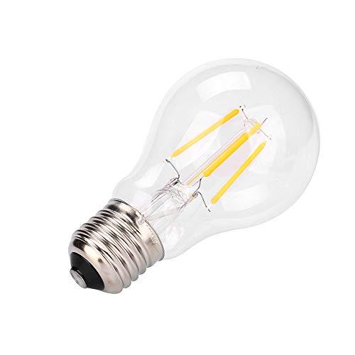 mxjeeio 1pcs Edison Vintage Glühbirne, LED Lampe Warmweiß E27 Retro Glühbirne Vintage Antike Glühbirne Ideal für Nostalgie und Retro Beleuchtung im Haus Café Bar usw (C)